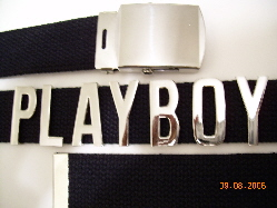 NAME BELT BUCKLE
