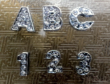 rhinestone slide letters wholesale